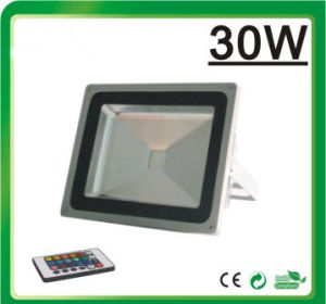 LED Flood Light RGB LED Floodlight (Remote Controller 30W) pictures & photos