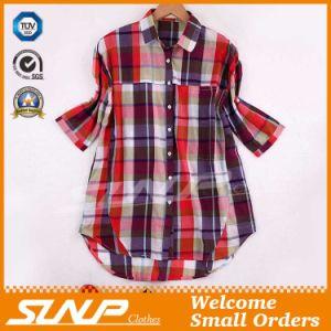 China Clothing Women Fashion Check Apparel