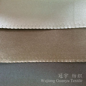 Curtain Fabric 100% Polyester Imitation Silk pictures & photos