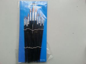 Round Hair Artist and Kids Brush Set pictures & photos