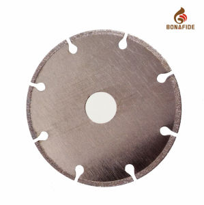 Normal Type Electroplated Diamond Saw Blade with Segments pictures & photos