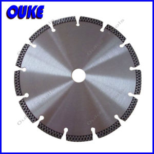 Turbo Segment Laser Welded Diamond Saw Blade for Concrete /Granite pictures & photos