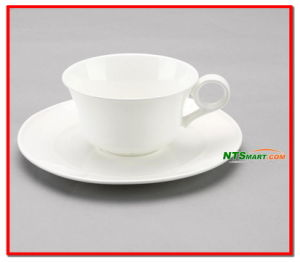 Porcelain Cup and Saucer White (000001673) pictures & photos
