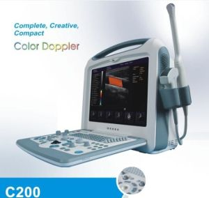 C200 CE Approved Portable Color Doppler Price pictures & photos