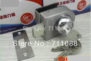 Glass Sliding Door Lock for Single pictures & photos