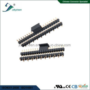 Pin Header Pitch 2.54mm Single Row Dual Insulator   SMT   Type H1.70mm pictures & photos