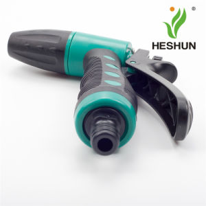 Plastic Car Washing High Pressure Garden Hose Nozzle Spray Gun pictures & photos