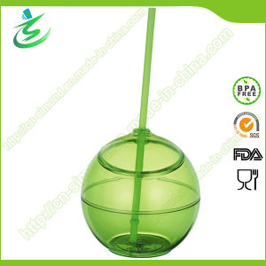 500 Ml BPA-Free as Ball-Shape Straw Cup (TB-A5) pictures & photos