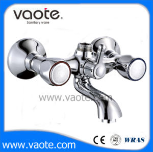 Double Handle Zinc Body Bath Faucet/Mixer (VT61301) pictures & photos