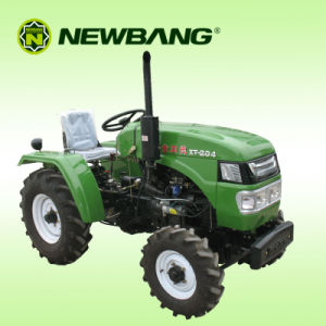 Wheeled Tractor 4WD 20HP Mini Agriculture Tractor Garden Machinery pictures & photos