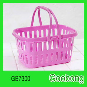 Plastic Supermarket Shopping Basket