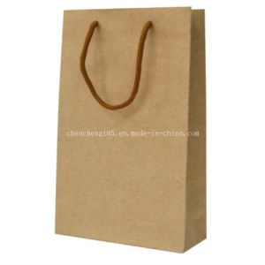 Custom Kraft Paper Bag /Shopping Paper Bag Fk-168 pictures & photos