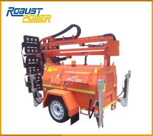 Road Construction SAA 6X480W High Mast Mobile Portable Generator Lights pictures & photos