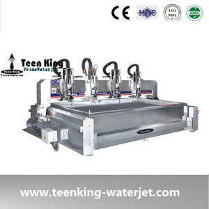 Teenking 4 Heads Waterjet Cutting Machine
