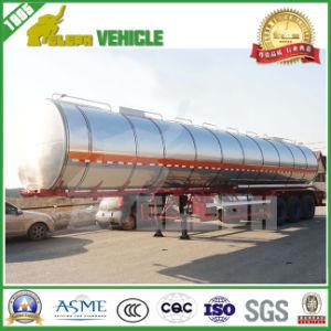 3 Axles Lifting Air Suspension Aluminum Fuel Tank Semi Trailer