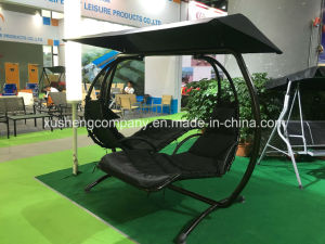 Outdoor Furniture Swing Hanging Chair for Double Seats pictures & photos