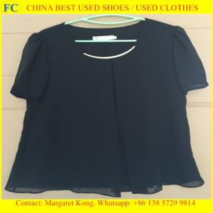 Used Clothes & Best Quality for Africa Market/Ladies Cotton Blouses pictures & photos