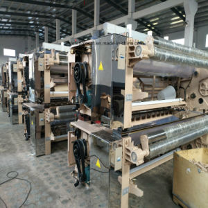 Single Pump Waterjet Loom Weaving Machine with Double Nozzle pictures & photos