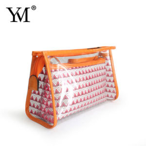 2017 New Product Waterproof Perspective PVC Toiletry Bag pictures & photos