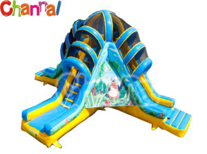 Jungle Inflatable Slide/Triple Inflatable Slide B004 pictures & photos
