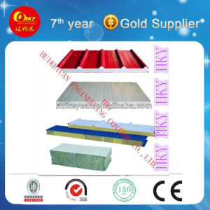 Glasswool Rockwool EPS Sandwich Panel Making Equipment pictures & photos