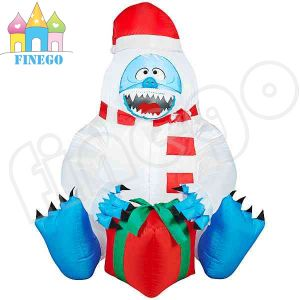Big Cartoon Inflatable Christmas Ghost Bear Model pictures & photos