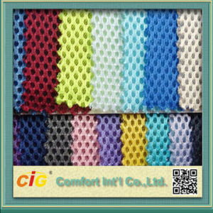 Knitted 100% Polyester Mesh Fabric pictures & photos