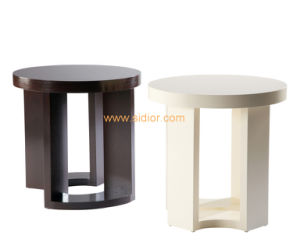 (CL-5515) Luxury Hotel Restaurant Villa Public Furniture Wooden Coffee Table pictures & photos