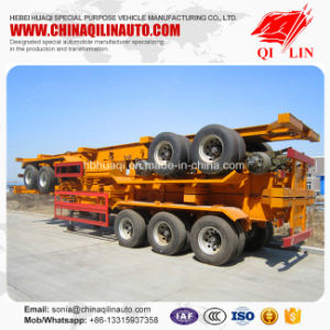 China Best Selling 40FT Container Skeletal Semi Trailer pictures & photos
