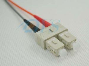 Multimode Duplex Fiber Optical Sc Connector pictures & photos
