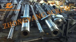 100mm PP Injection Molding Machine Screw Barrel pictures & photos