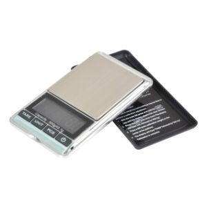 Pocket Scale with LCD Blue Backlight (HP113) pictures & photos