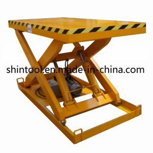 2000kg Scissor Lift with Max. Height 1100mm (Customizable) pictures & photos