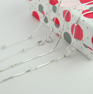 Silver Jewelry, Sterling Silver Chain, Silver Necklace pictures & photos
