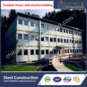 Mobile Prefab Steel Frame Container House for Home/Office/Domitory pictures & photos