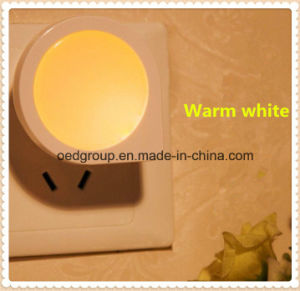 Plug Socket Intelligent Optical Control Sensor Night Light From Factory pictures & photos