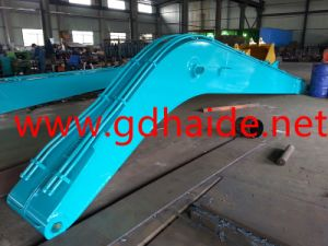Manufacture of Long Reach Boom and Arm for Koblco Sk200 Excavator (HD-LDB200) pictures & photos