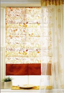 Windows Shades Fabric Roman Blinds with Patterns Fabric, Waterproof Sunscreen (DC#1401) pictures & photos