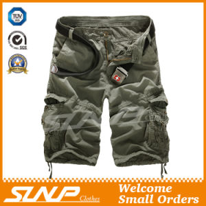 Men 100% Cotton Cargo Shorts Clothes