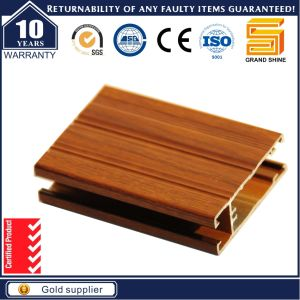 Wood Grain Aluminum Profile for Chile Market pictures & photos