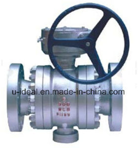 Trunnion Mounted Type Ball Valve pictures & photos
