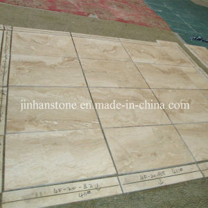 Polished Cappuccino Beige Marble Floor for Bathroom or Kitchen