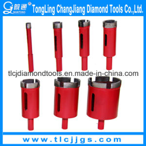 Laser Welded Limestone Core Drill Bit with High Quality pictures & photos