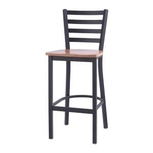 Upholstered Steel Frame Bar Chair