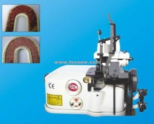 Carpet Overedging Machine with Ribbon for Car Mats pictures & photos