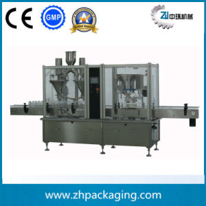 Automatic Powder Filling Capping Machine (Gsf30/2) pictures & photos