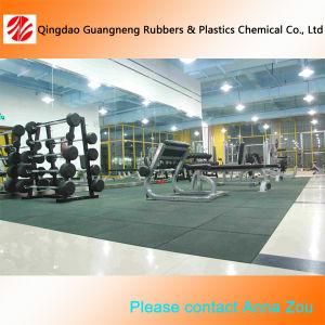 Sports Rubber Tile/Wear-Resistant Gym Flooring Matting pictures & photos