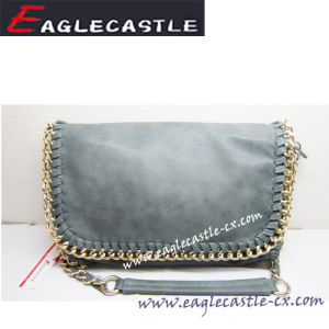 Fashion PU Handbag with Chain (CX11946)