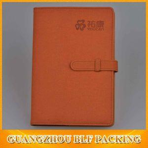 Premium PU Leather Cover Custom Notebook pictures & photos