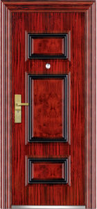 Wrought Iron Entry Door (WX-S-153) pictures & photos